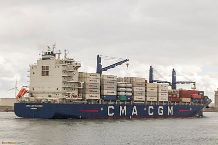 CMA CGM Kourou   -   IMO nº 9845659