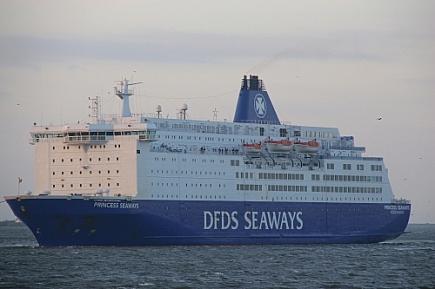 Princess Seaways  -   IMO n°  8502391