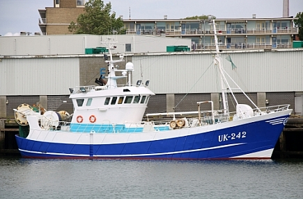 UK-242 Kleine Jan   -   IMO nº 9623838