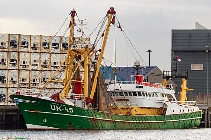 Jacob Willemina UK-45   -   IMO nº 8701399