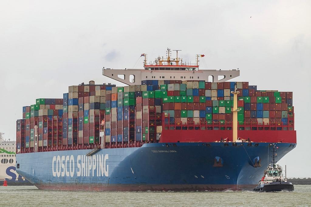 Cosco Shipping Libra   -   IMO nº 9783538