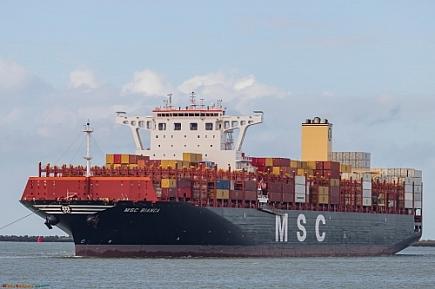 MSC Bianca   -     IMO nº 9770749