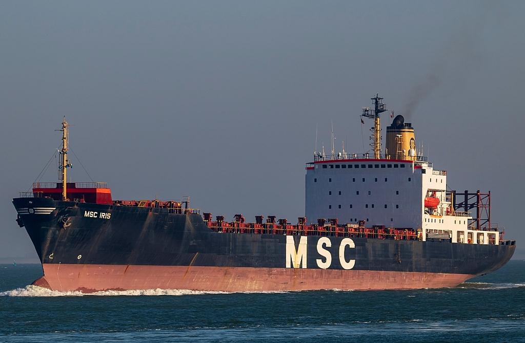 MSC Iris - IMO n°  8201624