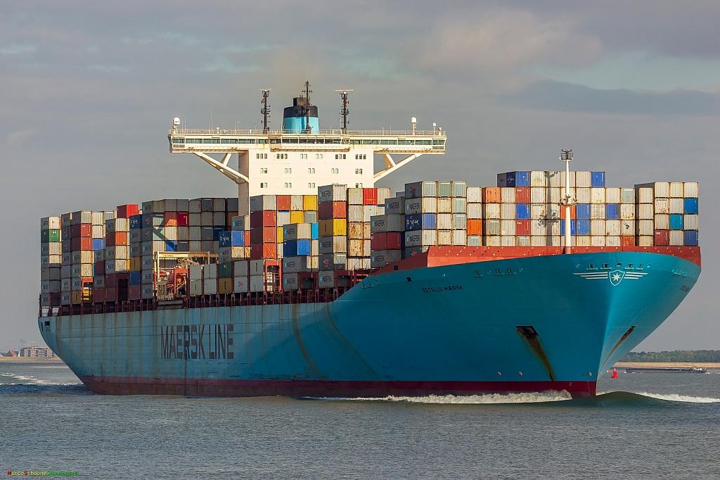 Estelle Maersk   -   IMO nº 9321495
