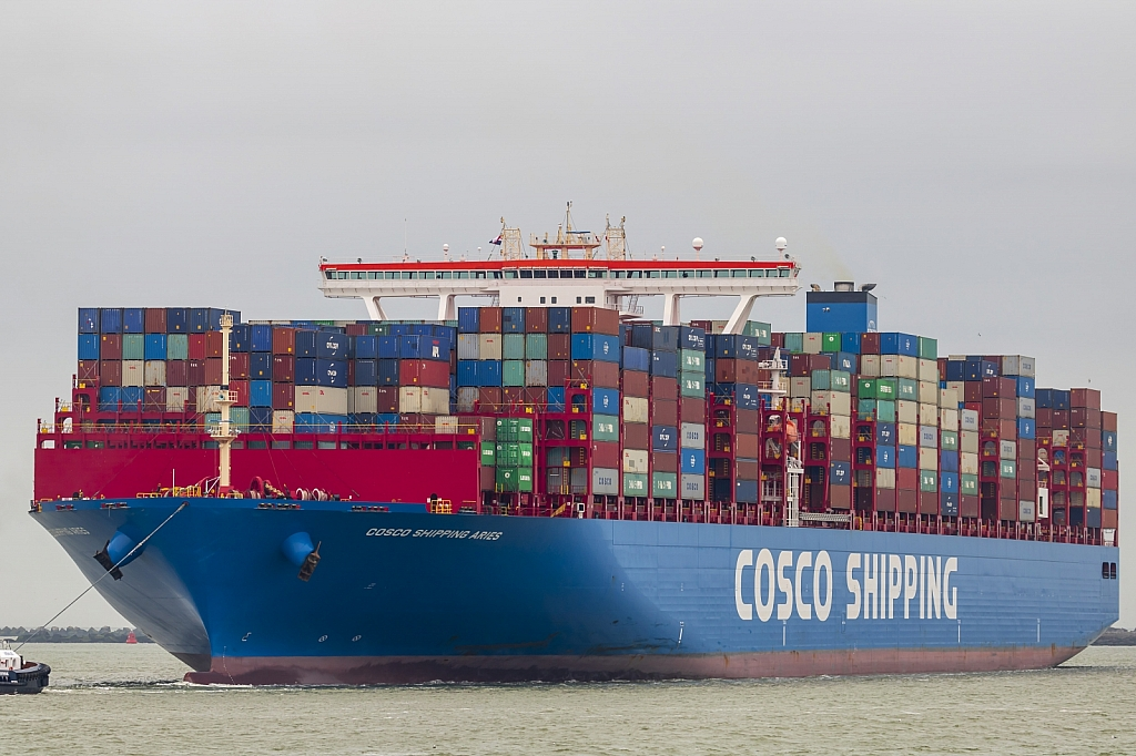 Cosco Shipping Aries  -   IMO n°  9783497