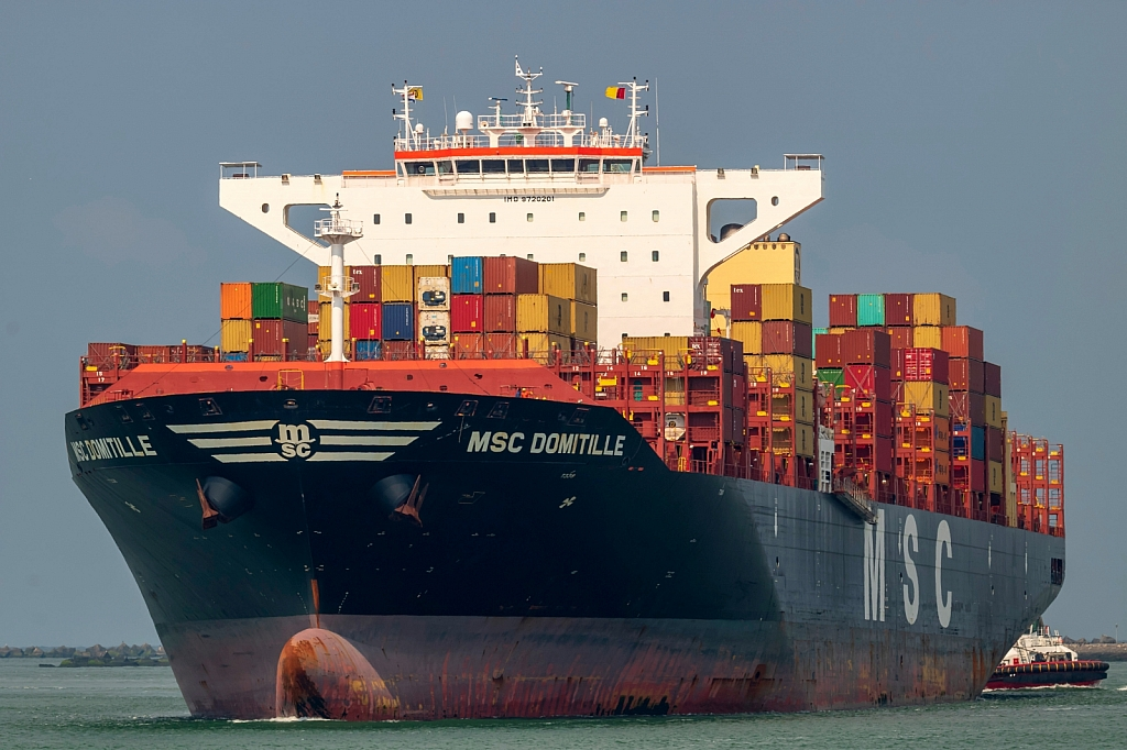 MSC Domitille  -   IMO n°  9720201