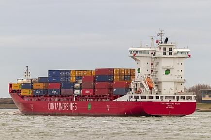 Containerships Polar   -   IMO nº 9814002