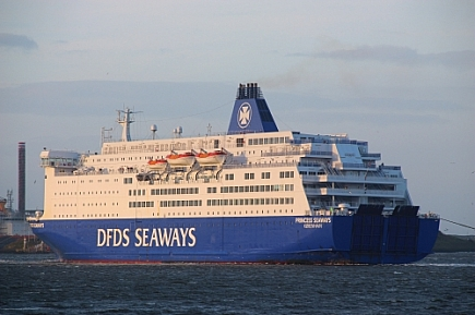 Princess Seaways  -   IMO n°  8502391
