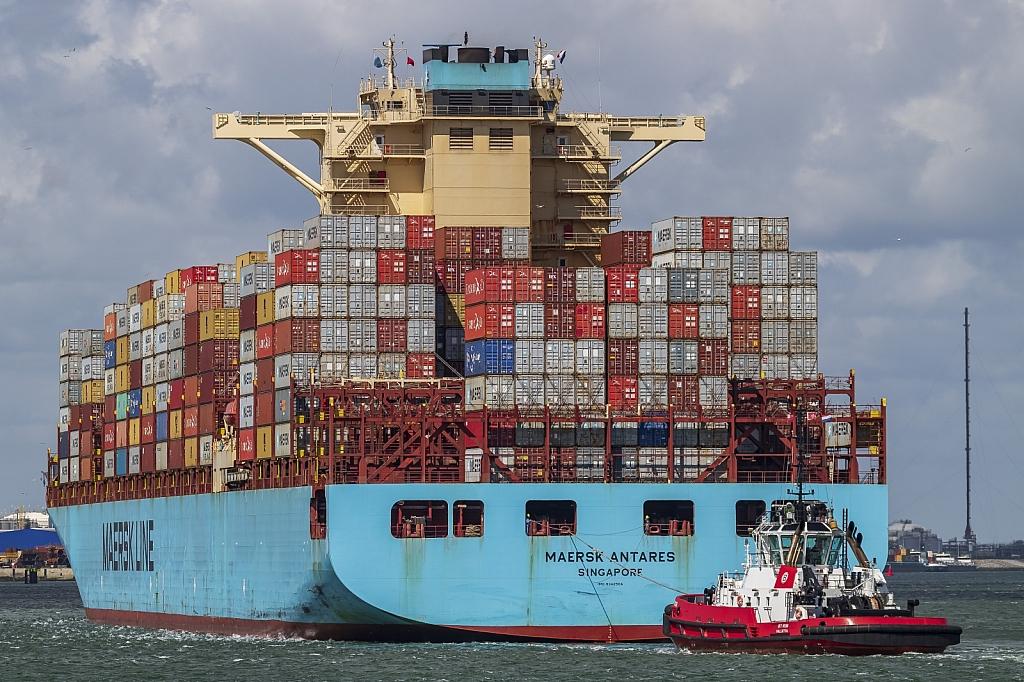 Maersk Antares   -   IMO nº 9342504