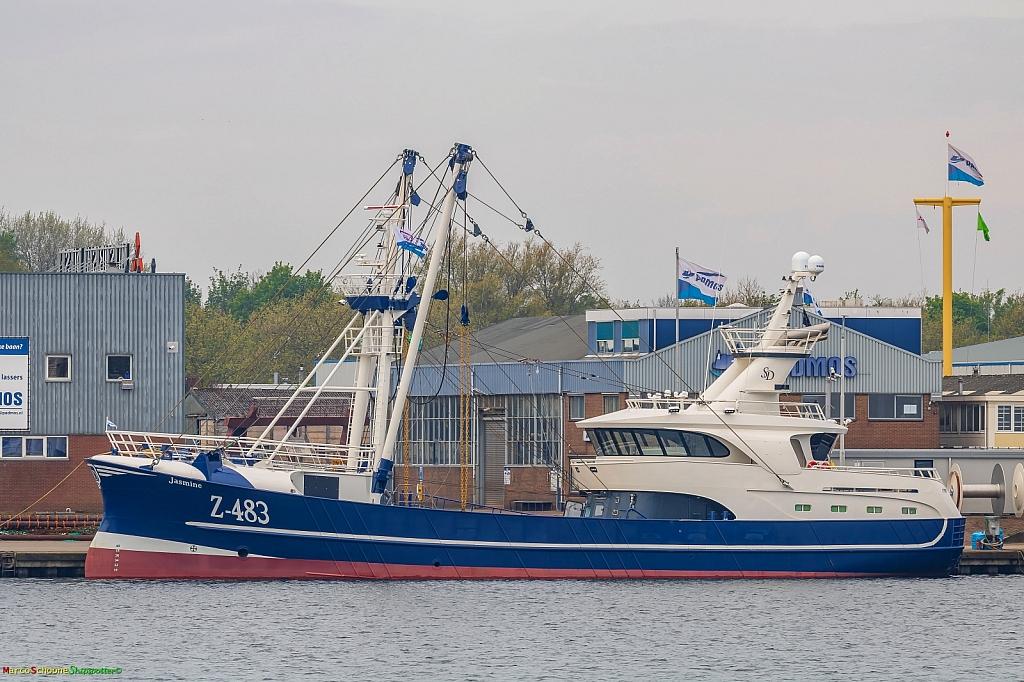 Z-483 Jasmine   -   IMO nº 9896787